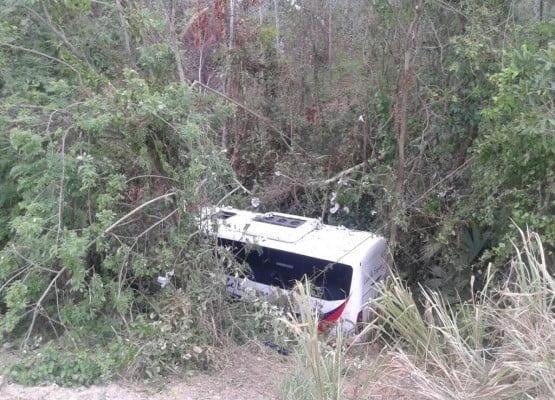 Accidente en la vía a Planeta Rica