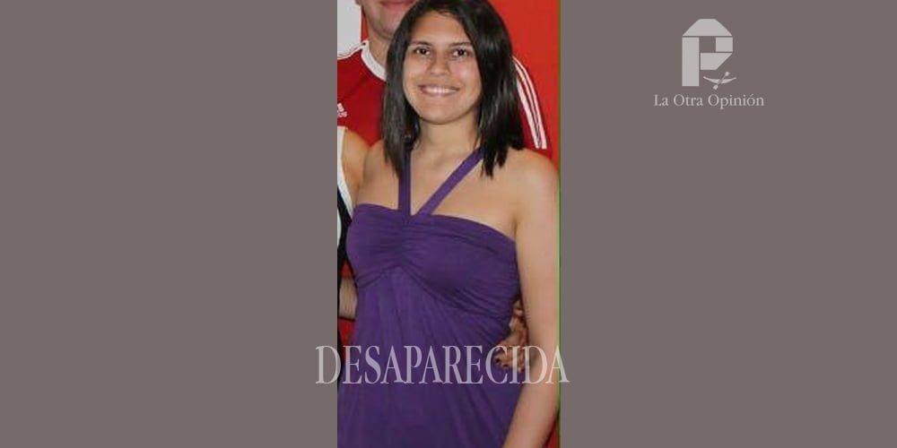 Desaparecida María Alejandra Sánchez