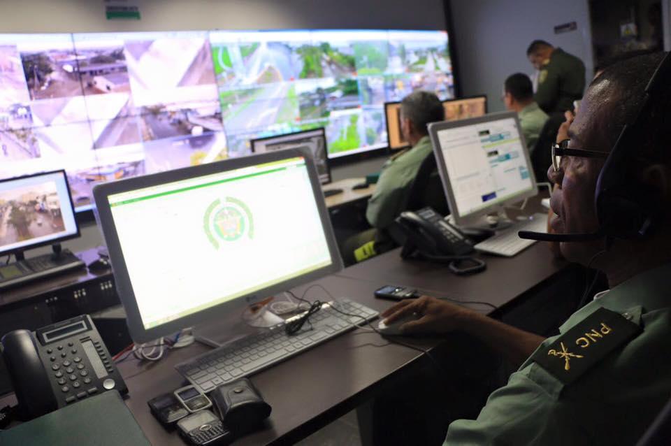 Alcaldía de Montería inaugura cento de vigilancia de la Policía Metropolitana