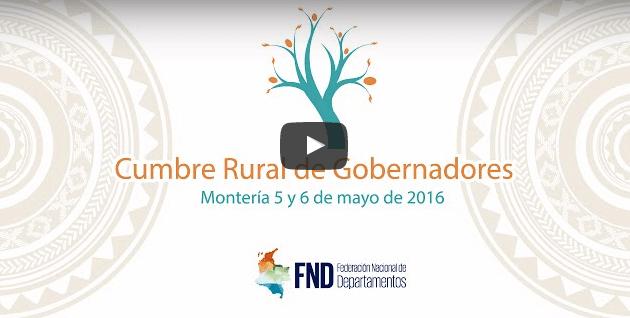 Cumbre Rural de Gobernadores Día 2