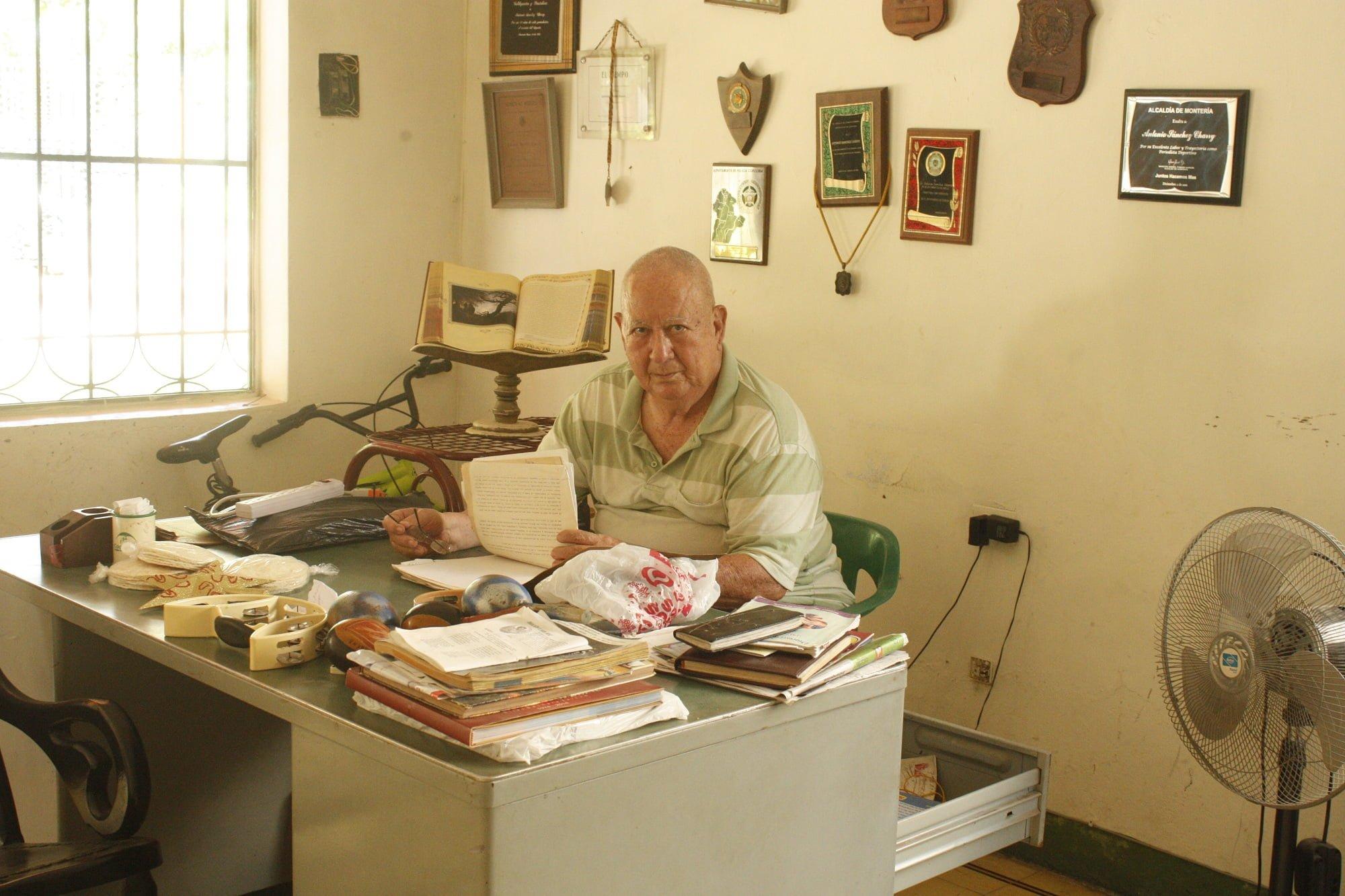 Antonio Sánchez Charry, un gran periodista