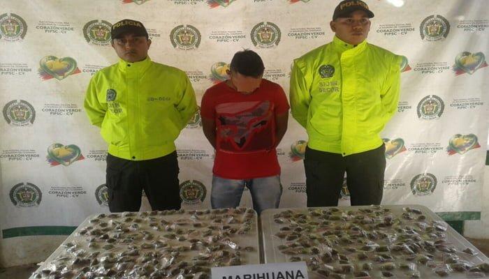 En Ayapel, capturan a presunto expendedor de drogas