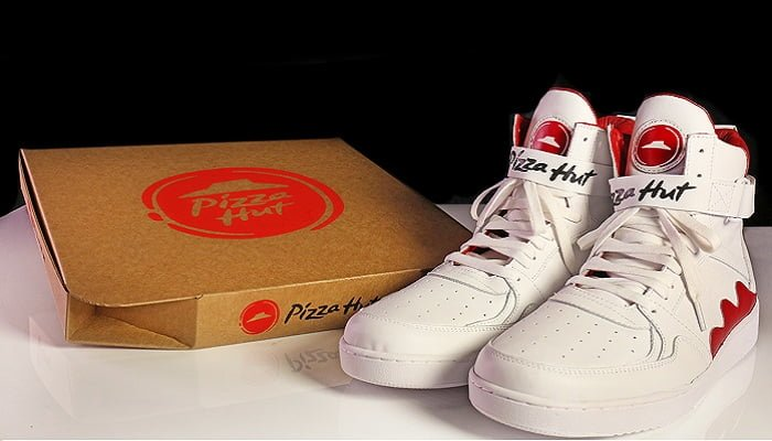 Ahora podrás pedir una pizza desde tus zapatos deportivos