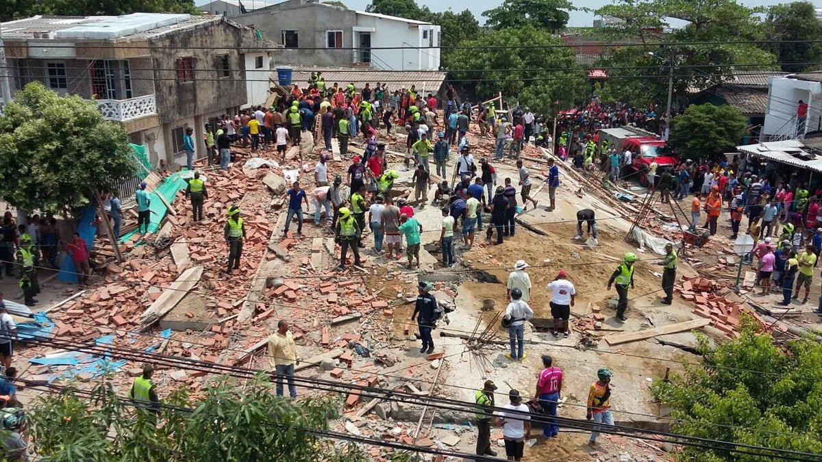 Al menos 4 muertos en desplome de edificio en el sur de Cartagena