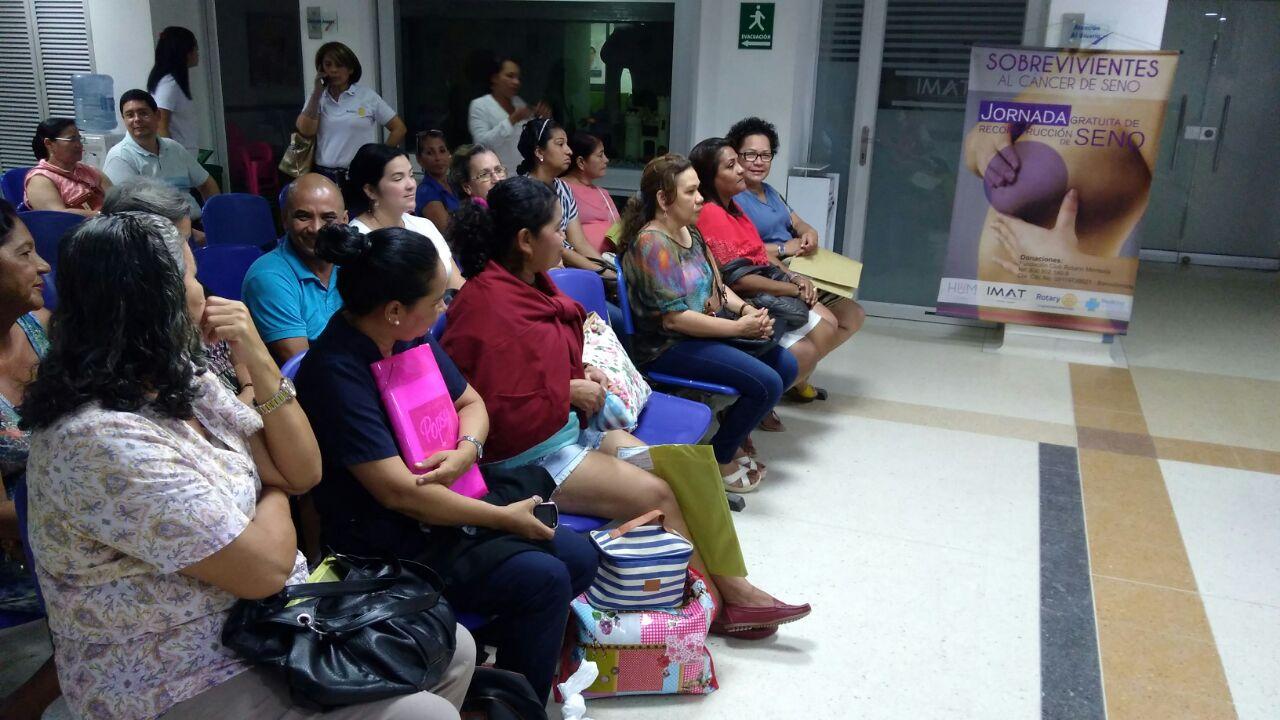 Primera Jornada gratuita de reconstrucción mamaria en Montería