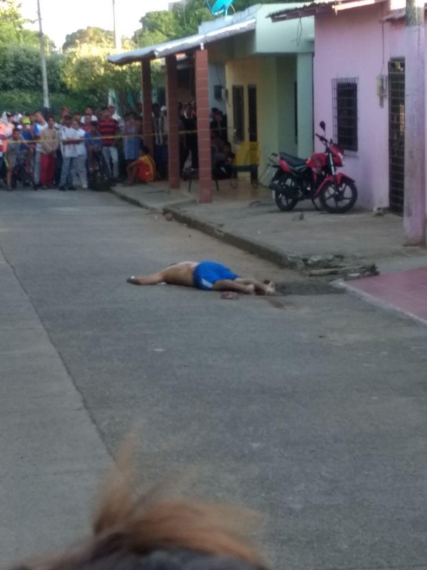 Asesinan a una persona en Montelíbano