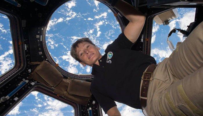 La humana que más tiempo ha pasado en el espacio