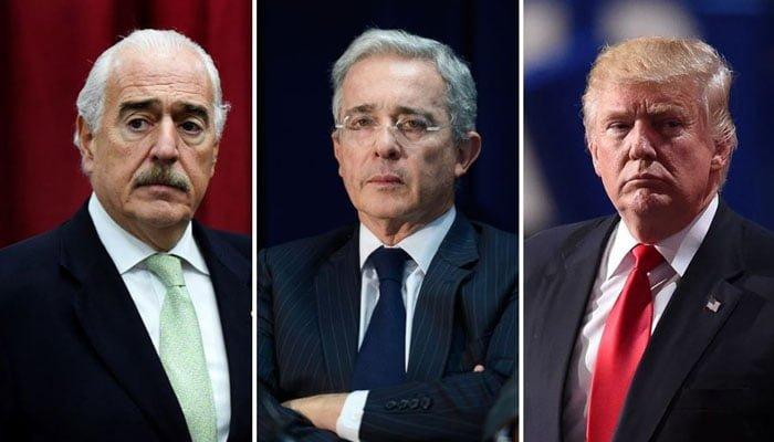 """Los memes que dejó la """"reunión"""" entre Uribe, Pastrana y Trump"""