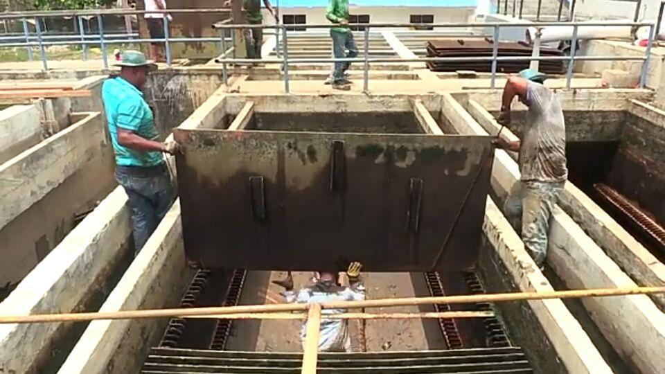 Avanzan trabajos de optimización en la planta de agua potable