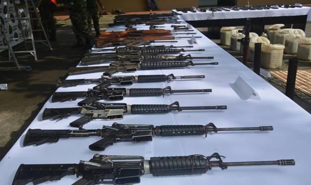 Ejército ubica y neutraliza el más grande depósito ilegal del 'Clan del Golfo' en lo que va del año