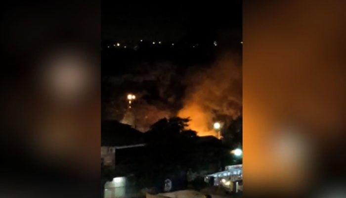 Persecución, tiroteo y explosiones deja asalto en Paraguay