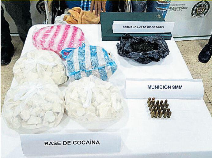 Incautan droga al crimen organizado en tierradentro