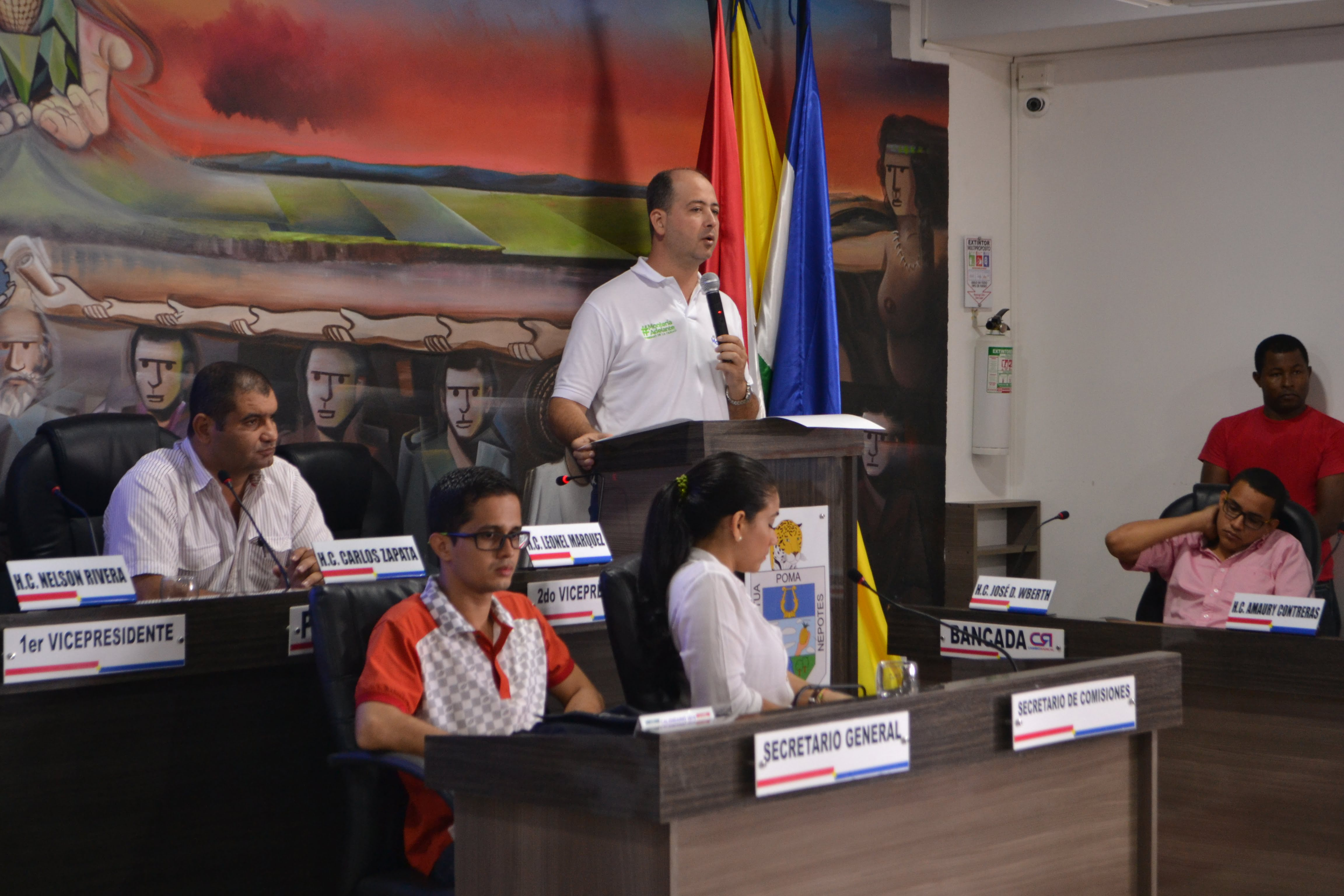 A consideración, plan de desarrollo de Montería