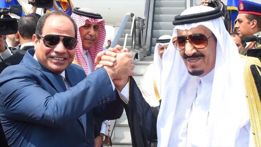 Islas estratégicas en manos del Sisi