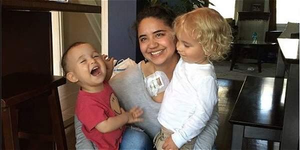 La batalla de una colombiana con cáncer contra una agencia de niñeras