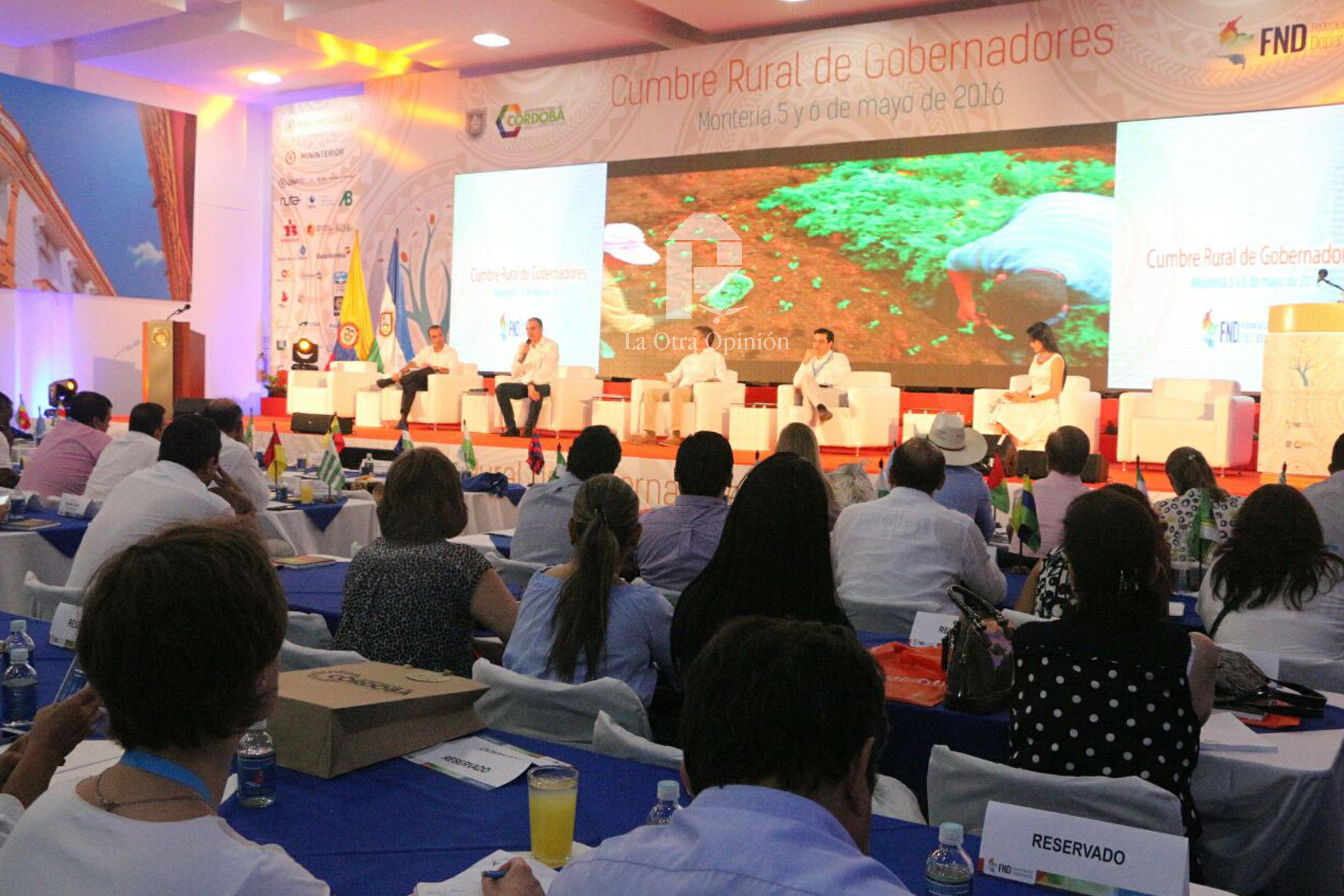En Montería, inició Cumbre de Gobernadores