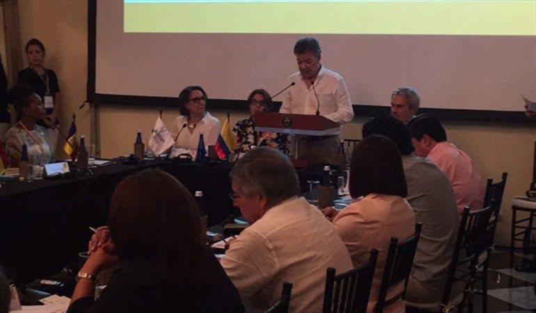 La cultura jugará un papel importante en firma de los acuerdos y el postconflicto: Santos