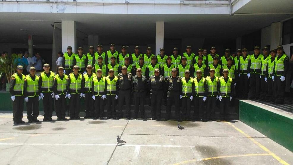 Nuevos policías bachilleres para el departamento.