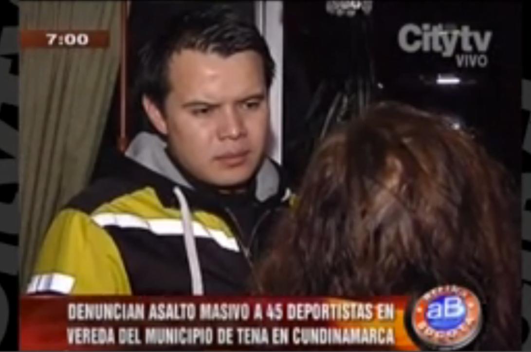 Asaltan a 45 deportistas en la vía Tena-Bojacá, en Cundinamarca