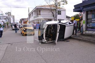 Accidente en el centro de Montería