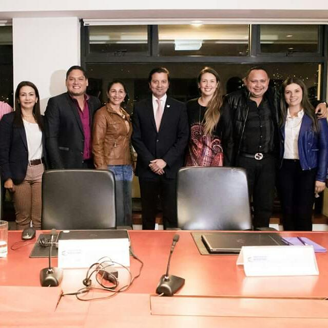 Alcalde logra gestión en las TIC