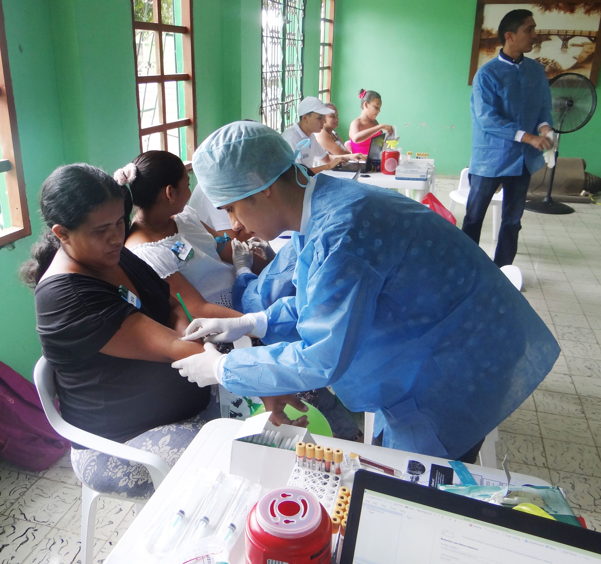 Jornada de salud para embarazadas
