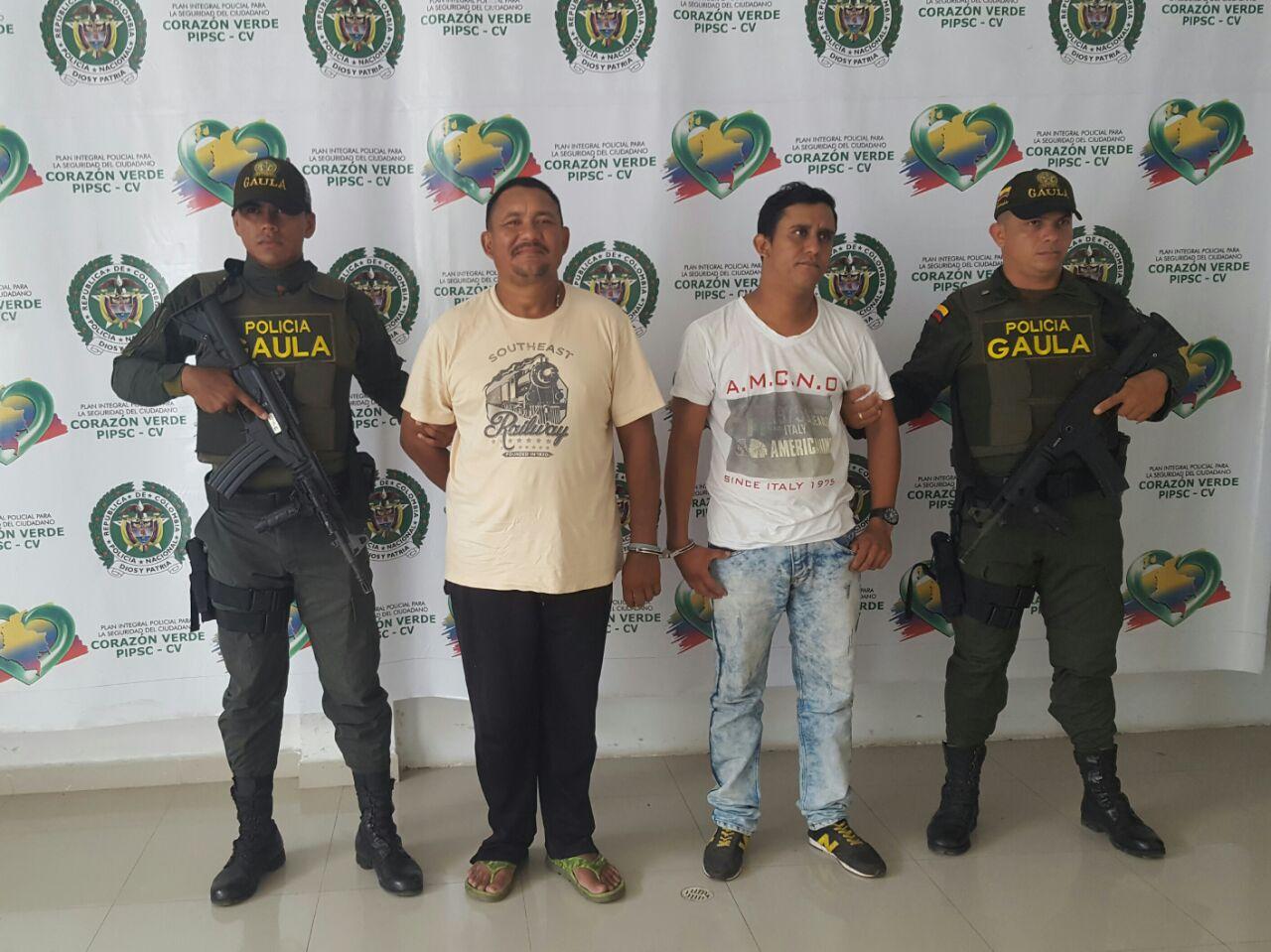Caen extorsionistas del Clan Úsuga en Planeta Rica y a otro le imputan cargos por extorsión