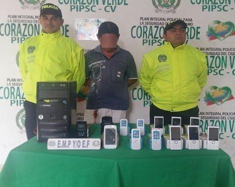 En municipios de Córdoba Policía mantiene la ofensiva contra el hurto a celulares