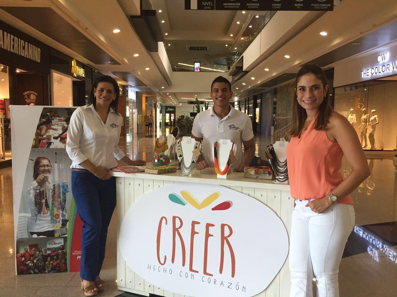 """""""Creer"""" se posiciona en los centros comerciales de Montería"""