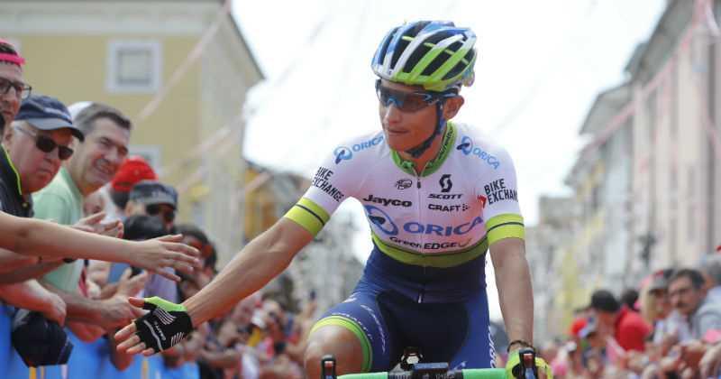 Sin cambios en la clasificación general terminó etapa 18; Chaves sigue segundo