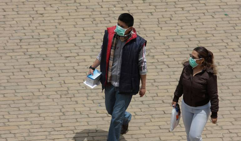 ¡Ojo!  Reaparece el virus H1N1 en Bogotá