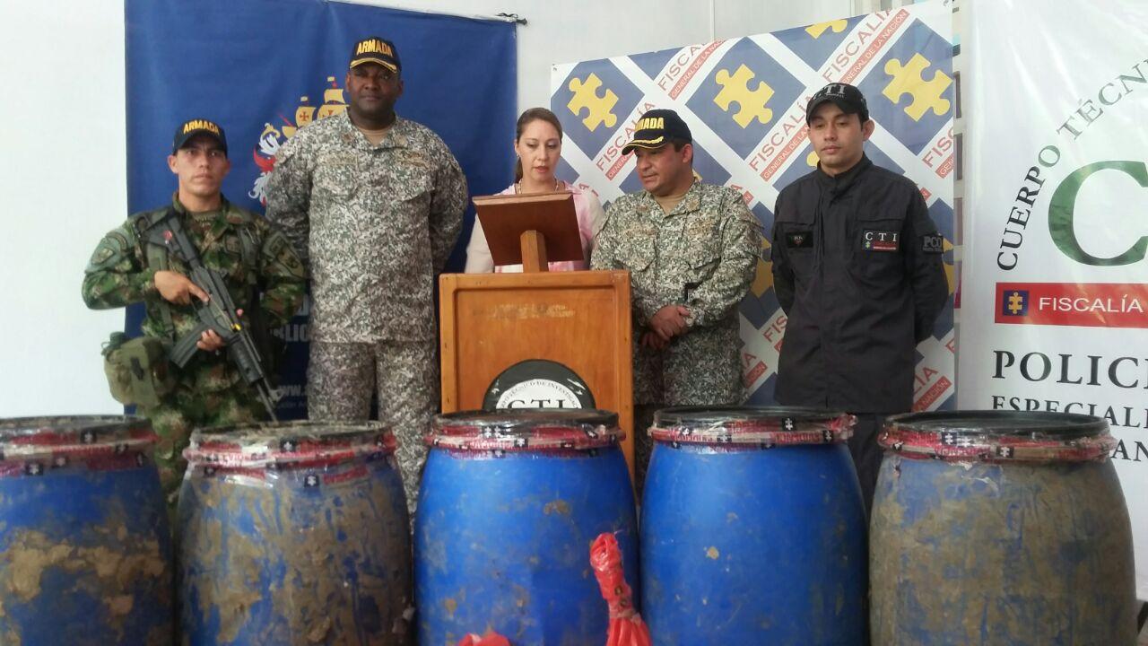 Confiscan caleta de coca del Clan Úsuga en Moñitos