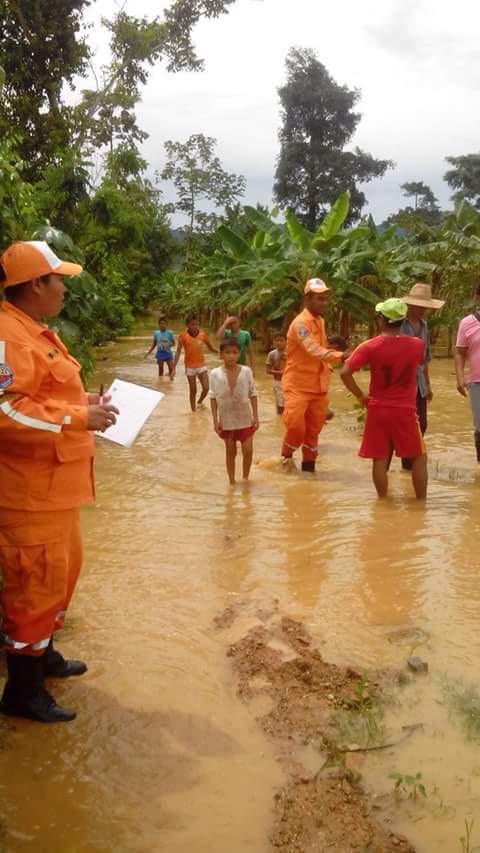 Más de 25 familias inundadas