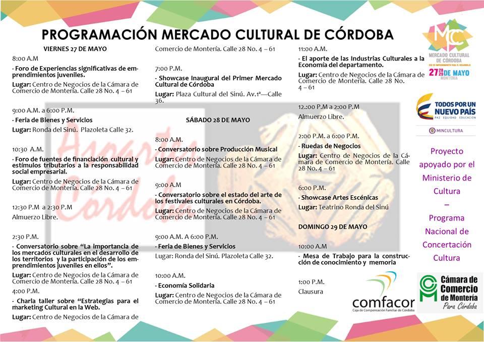 Primer mercado cultural de Córdoba