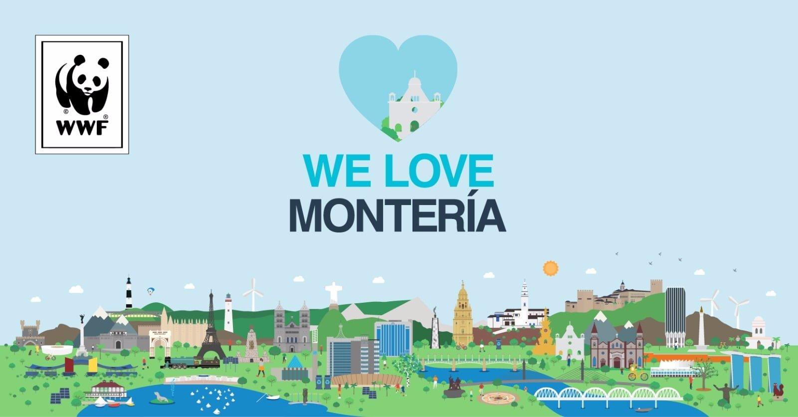 Montería, finalistas en el desafío de ciudades de WWF
