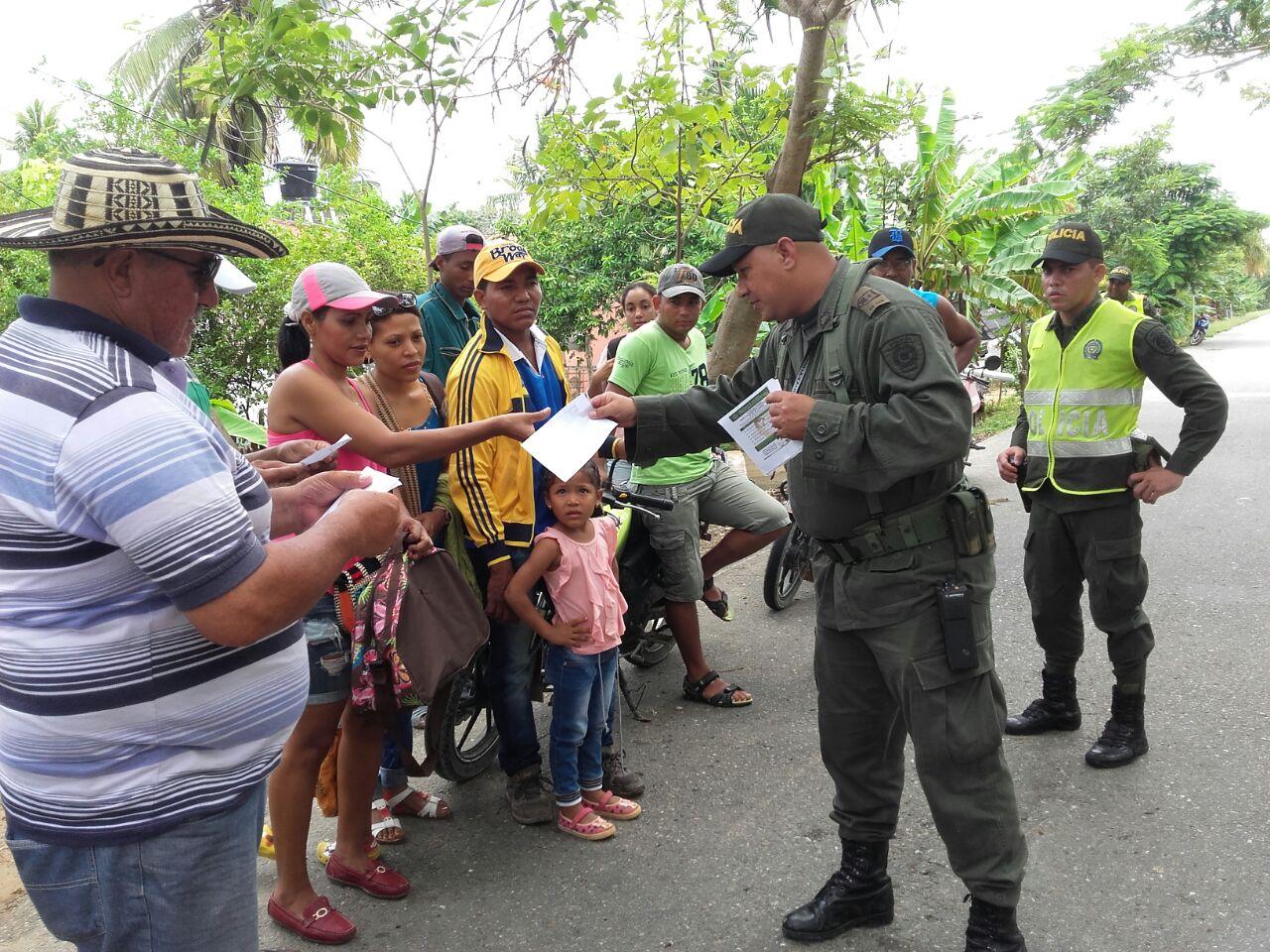 Policía presentó balance del puente festivo del día de las madres.