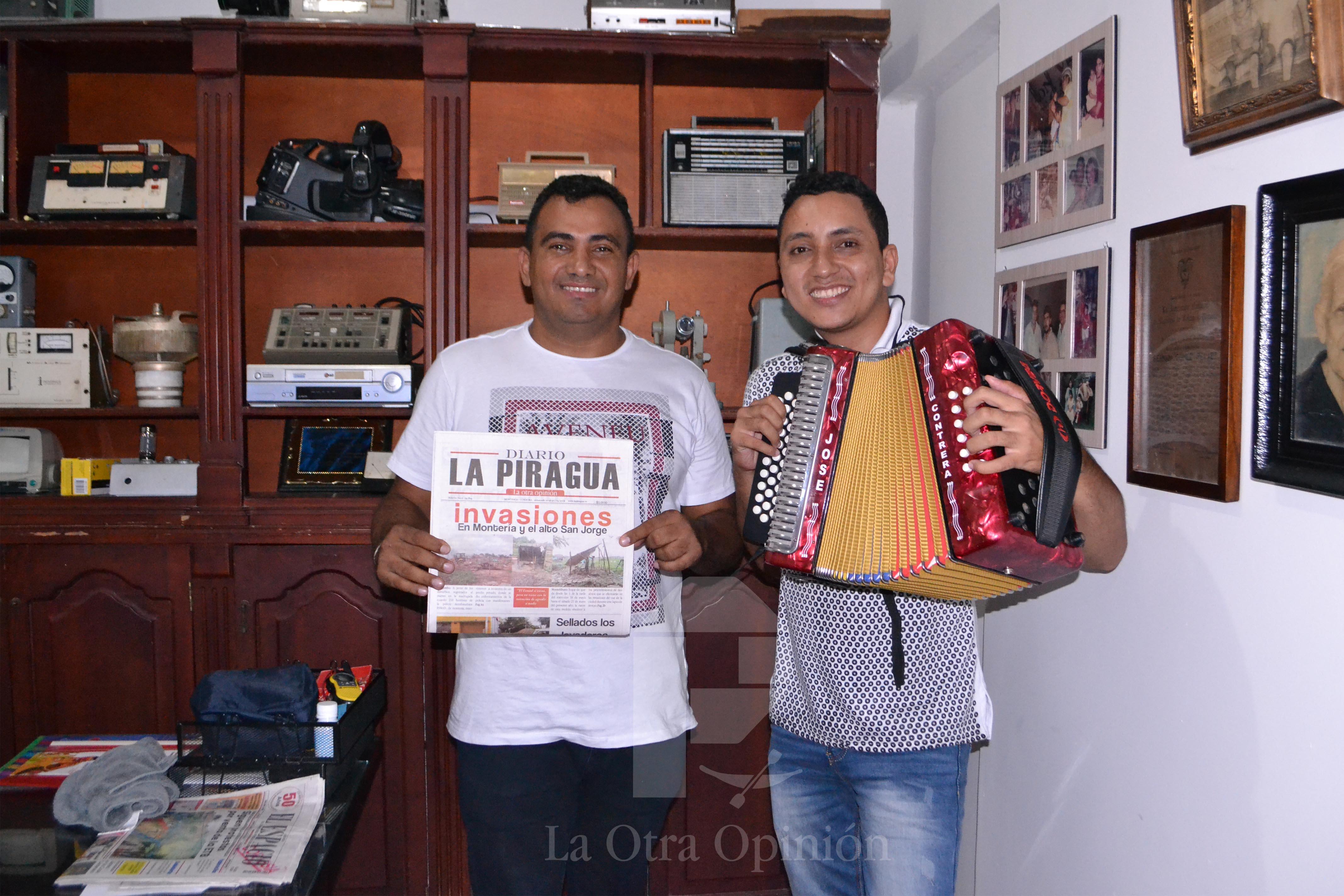 Entrevista a grupo de vallenato
