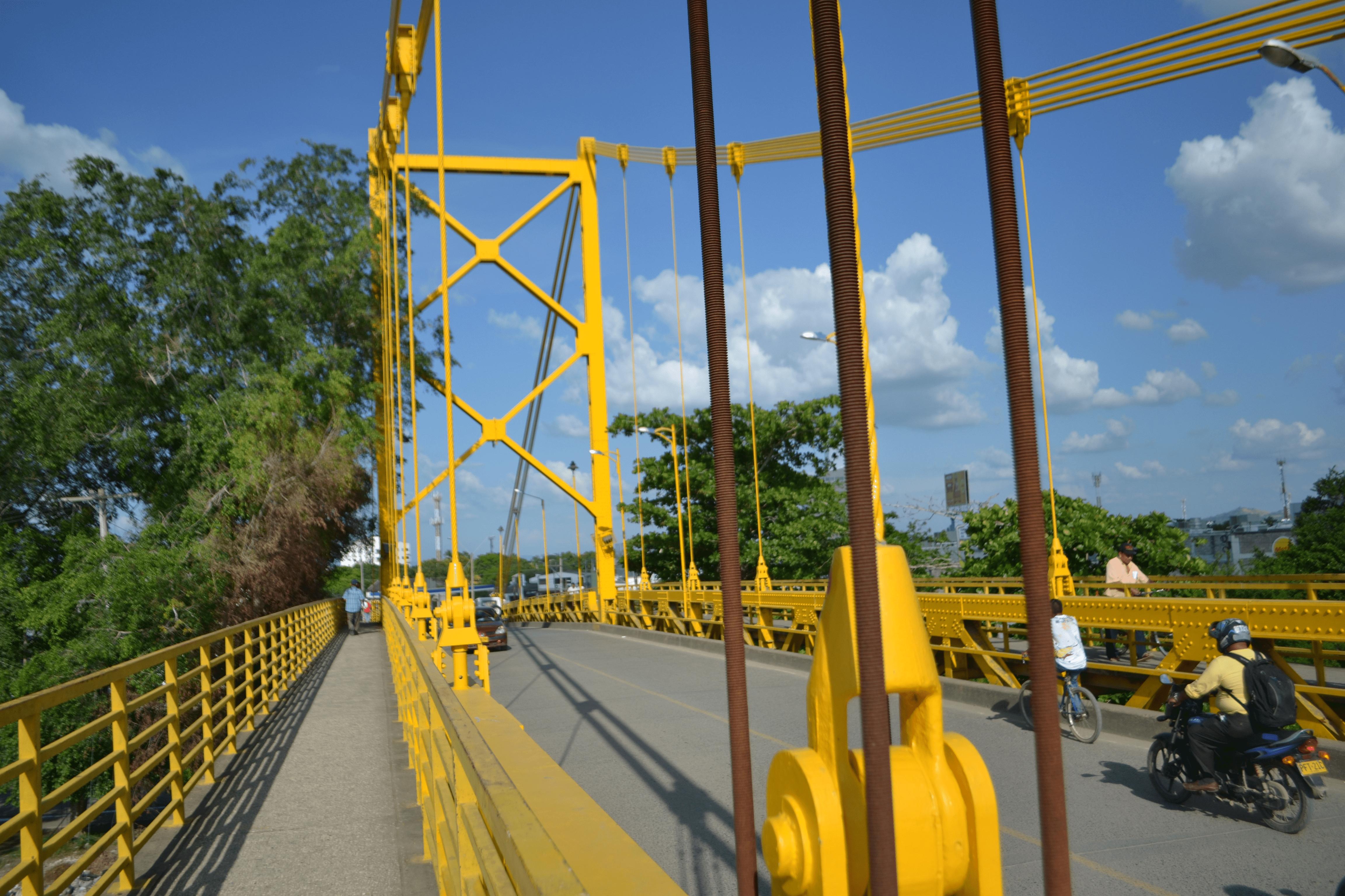 Tránsito cerrado en el puente metálico para vehículos, bicicletas y peatones el próximo 1 y 2 de julio