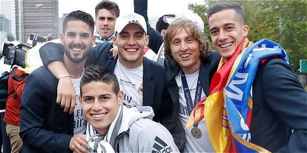 James y Cristiano quieren seguir en Real Madrid