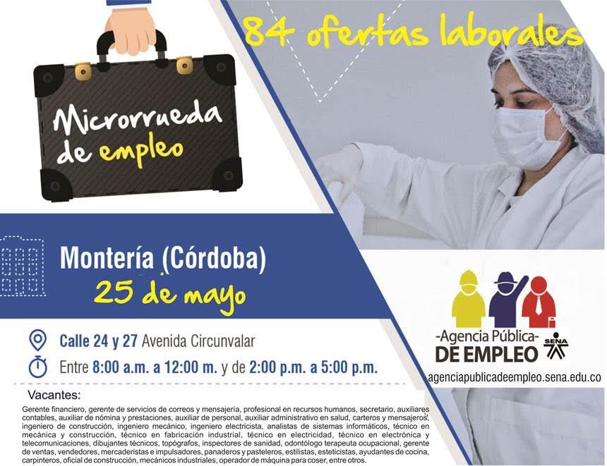 Cuarta microrrueda de empleo SENA Regional Córdoba