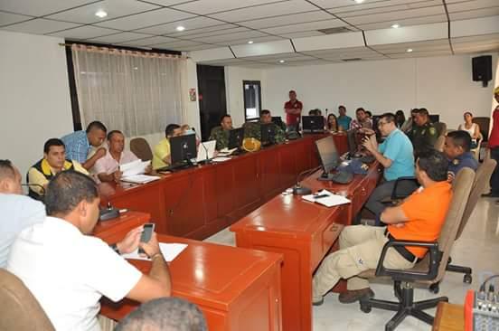 Concejo de gestión de riesgo en Tierralta