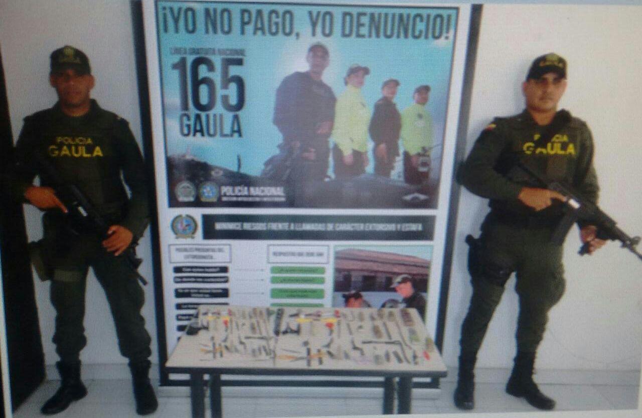 Policía requisó cárcel de Urrá en Tierralta