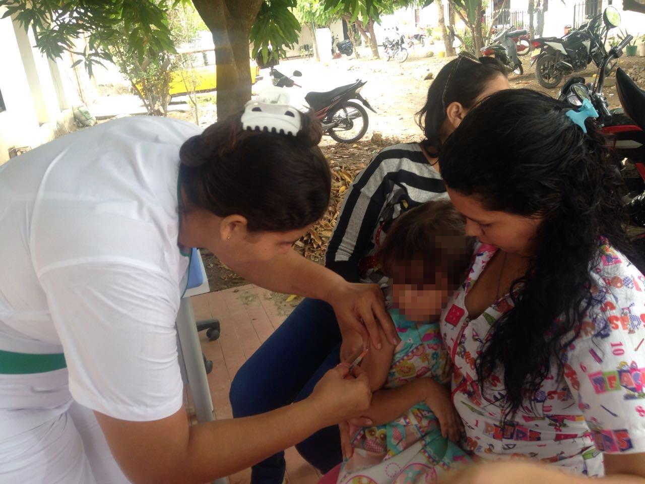 Segunda jornada de vacunación en Montería