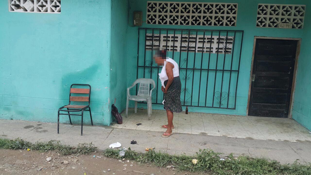 Anciana vendía droga en su casa.