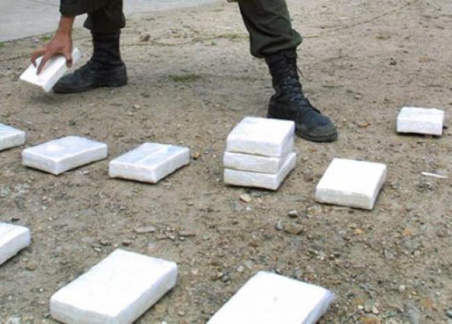 Policía decomisó una tonelada de cocaína en Fusagasugá