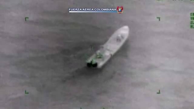 Capturan dos hondureños y un colombiano transportando droga cerca a Cartagena