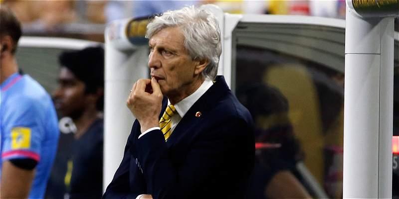 Para Pékerman, Colombia clasificó a 'semis' de Copa por su «voluntad»