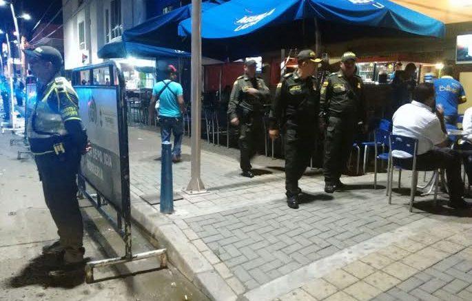 En «pelotera»,  fiscal hirió a 2 hombres en la calle 41 de Montería
