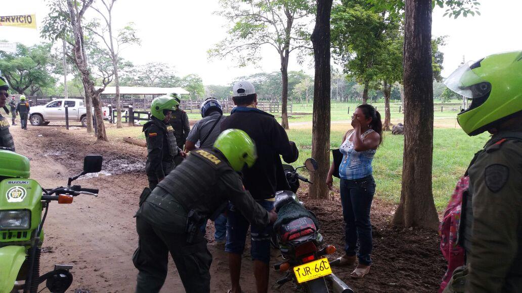 Toma sorpresa de la Policía en zonas  rurales  de Montería