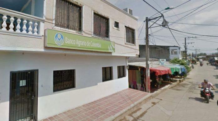 Banco Agrario presuntamente robado por militares